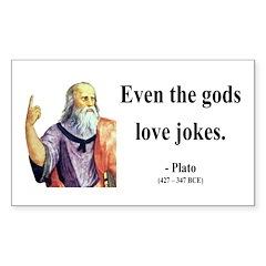 Plato 23 Rectangle Decal
