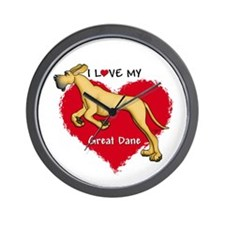 Love Fawn Dane UC Wall Clock