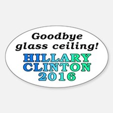 Goodbye glass ceiling! - Decal