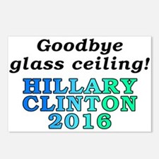 Goodbye glass ceiling! - Postcards (Package of 8)