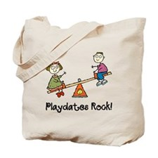 Playdates Rock! Tote Bag