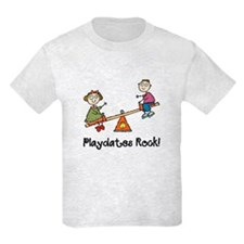 Playdates Rock! T-Shirt