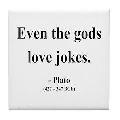 Plato 23 Tile Coaster
