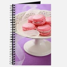 Pink macarons in a box Journal