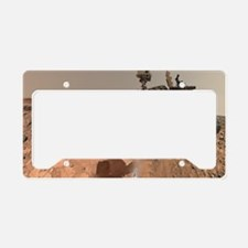 Cute Mars License Plate Holder