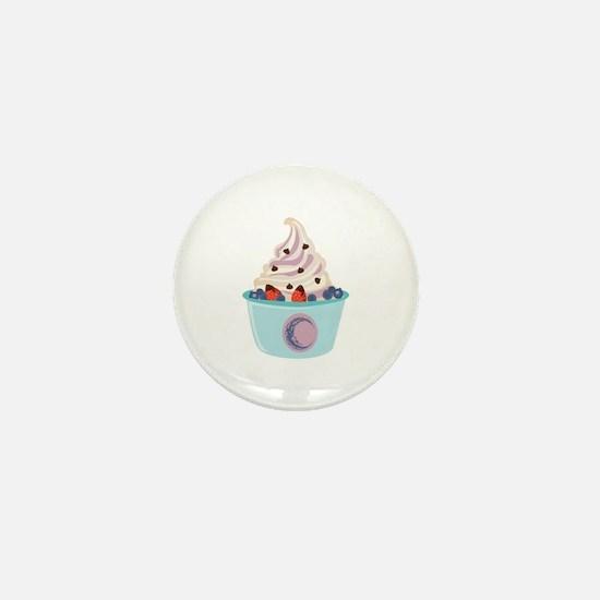 Berry Yogurt Mini Button