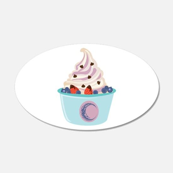 Berry Yogurt Wall Decal