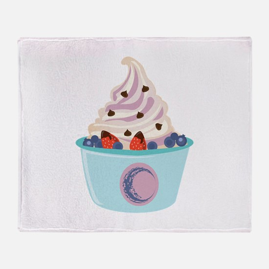 Berry Yogurt Throw Blanket
