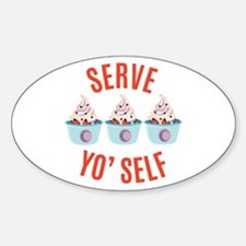 Serve Yoself Decal