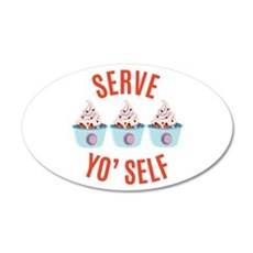 Serve Yoself Wall Decal