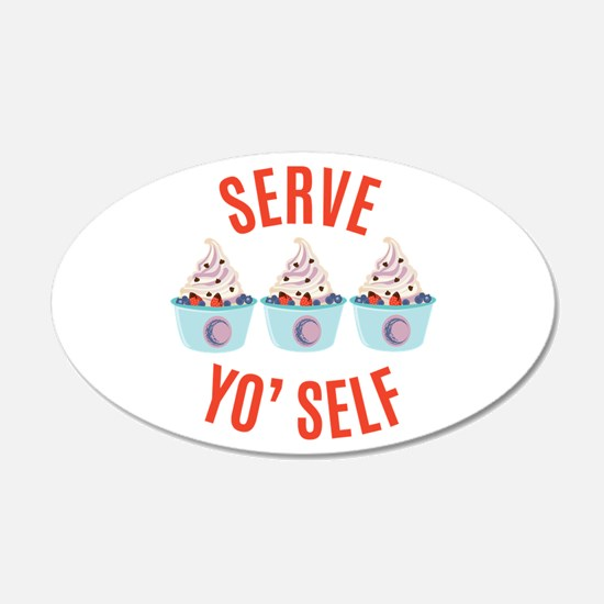 Serve Yoself Wall Decal