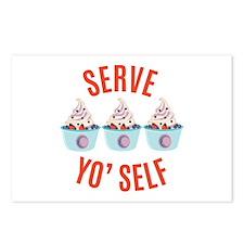 Serve Yoself Postcards (Package of 8)