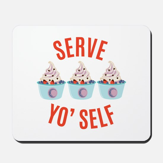 Serve Yoself Mousepad