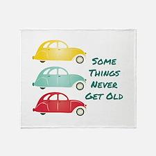 Never Get Old Throw Blanket