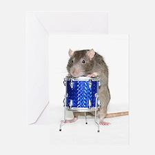 Cute Ratclub Greeting Card