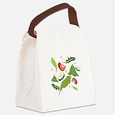 Toss Salad Canvas Lunch Bag