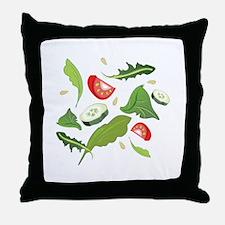 Toss Salad Throw Pillow