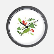 Toss Salad Wall Clock