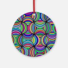 Color of Love Round Ornament
