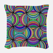 Color of Love Woven Throw Pillow