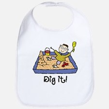 Dig It! Sandbox Bib