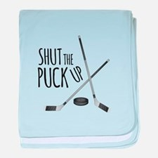 Shut Puck Up baby blanket