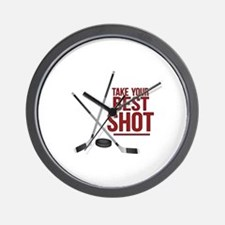 Best Shot Wall Clock