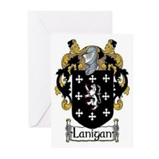 Lanigan Coat of Arms Greeting Cards (Pk of 20)