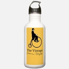 Cute Antique bicycle Water Bottle