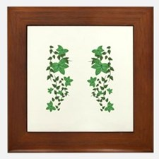 Ivy Vines Framed Tile