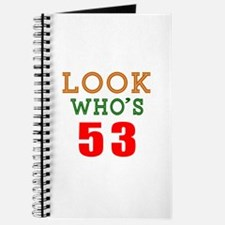 Look Who's 53 Journal