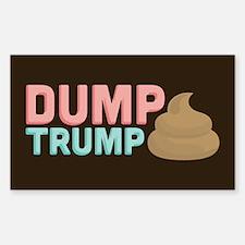 Poo Dump Trump Decal