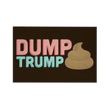 Poo Dump Trump Magnets