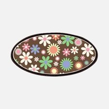 Funky Floral Pattern Patch