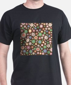 Funky Floral Pattern T-Shirt