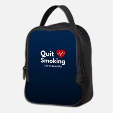 Quit Smoking Neoprene Lunch Bag