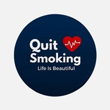 Quit Smoking Button