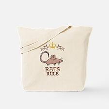 Rats Rule Tote Bag