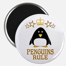 Penguins Rule Magnet