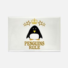 Penguins Rule Rectangle Magnet (100 pack)