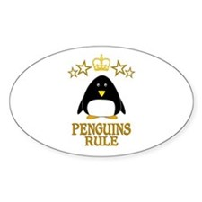 Penguins Rule Decal