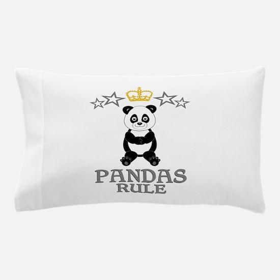 Pandas Rule Pillow Case