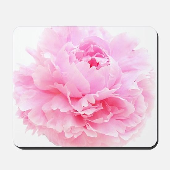pink peony Mousepad