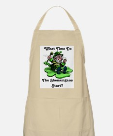 What Time Do The Shenanigans Start? Apron