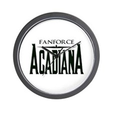FanForce Acadiana Wall Clock