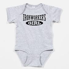 Cute Ironworkers Baby Bodysuit