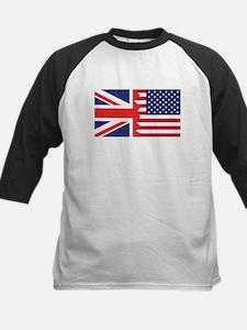 British American Flag Baseball Jersey