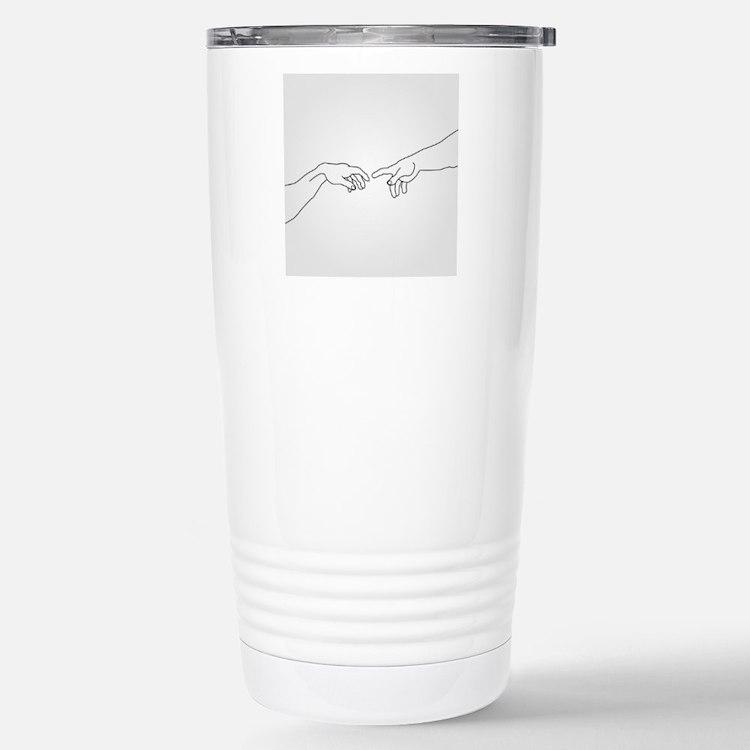 Cute Human touch Travel Mug