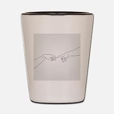 Human hand Shot Glass