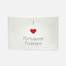 I love Portuguese Pode Rectangle Magnet (100 pack)